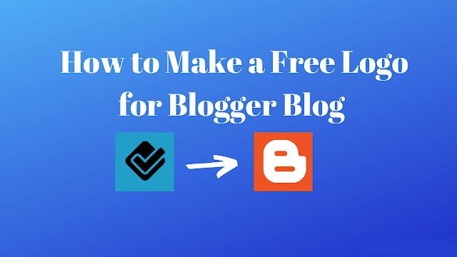Make a free logo for blogger