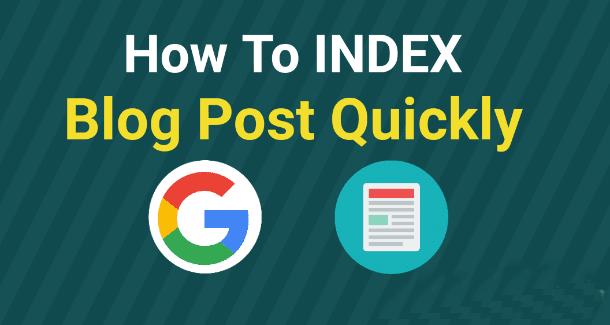 blog post fast index