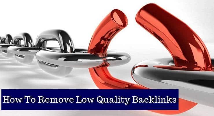 remove bad backlink