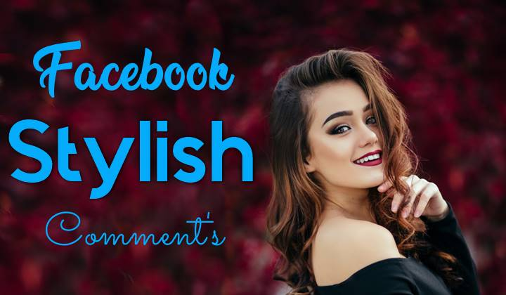 facebook stylish comment