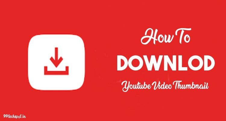 youtube thumbnail downlaoder