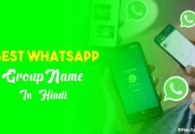 whatsapp group name in hindi
